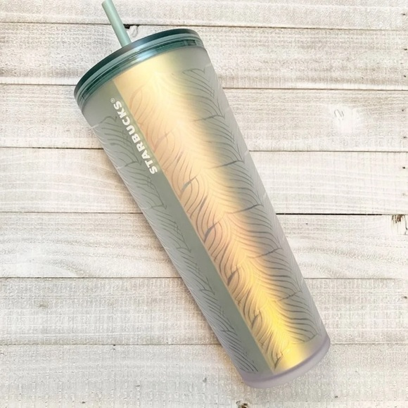 Starbucks Whale Tail Matte Soft Touch Tumbler